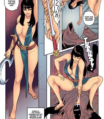 The Princess Guard (ongoing) comic porn sex 008