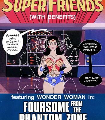 Porn Comics - Super Friends: Foursome from the Phantom Zone