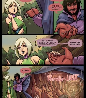 The Cummoner Ch. 22 Paradise Lust comic porn sex 004