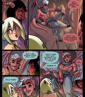 The Cummoner Ch. 22 Paradise Lust comic porn sex 007