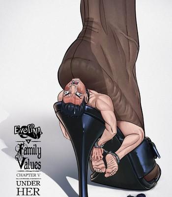 Porn Comics - Family Values 5: Under Her Heel