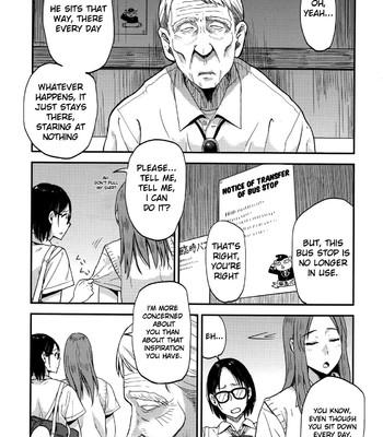 Sayako at the Bus Stop | JK at the Bus Stop! comic porn sex 004