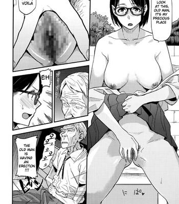 Sayako at the Bus Stop | JK at the Bus Stop! comic porn sex 010