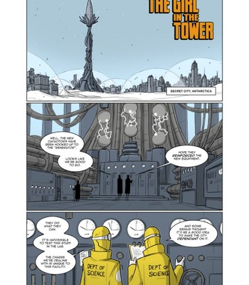 Porn Comics - The Girl in the Tower