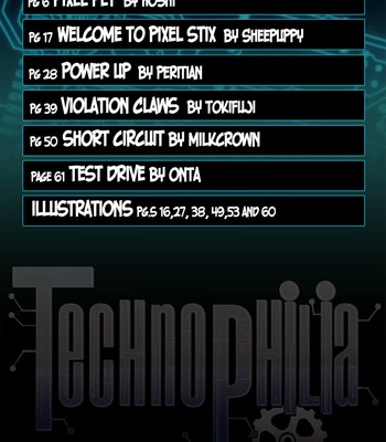 Technophilia (regular edition) comic porn sex 005