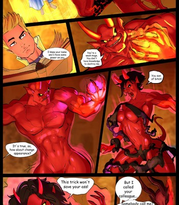 Porn Comics - The Mage and the Demon