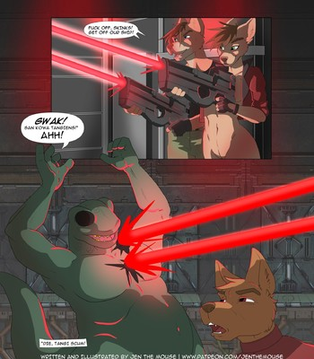 Lt. Freya. Issues 1-8 + Extras comic porn sex 046