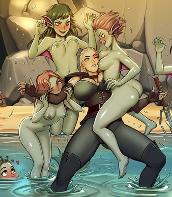 Toss A Coin to Your Witcher comic porn sex 005