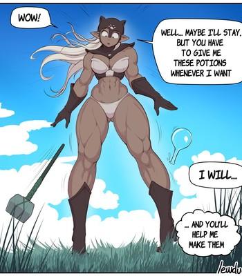 [Lewdua] The strength potion – Lola and Pamela comic porn sex 009