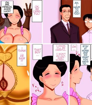 My mother is a man's sex slave comic porn sex 022