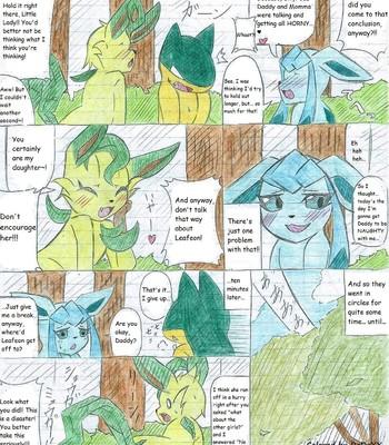 Leafeon X Quilava comic porn sex 043