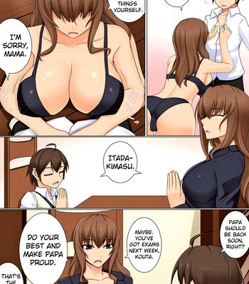 I want to blame my son comic porn sex 003