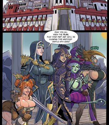 Porn Comics - The Great Raid