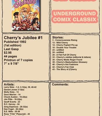 Porn Comics - [Larry Welz] Cherry's Jubilee 01