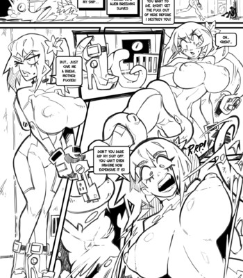 Skarpworld – Chapter 10: Milk Crisis part four 'Gravity' comic porn sex 009
