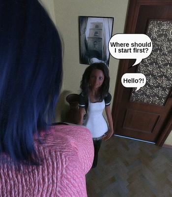 The Maid comic porn sex 010