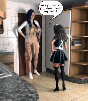 The Maid comic porn sex 019
