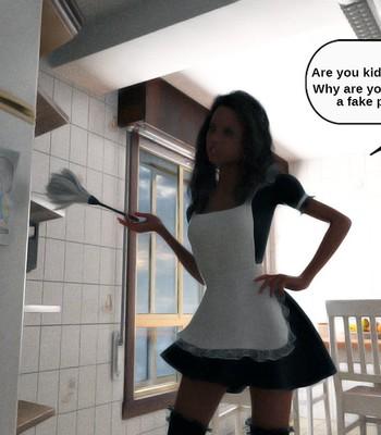 The Maid comic porn sex 020