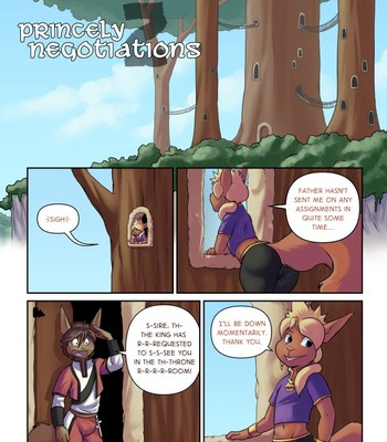 Porn Comics - Princely Negotiations 2 (ongoing)