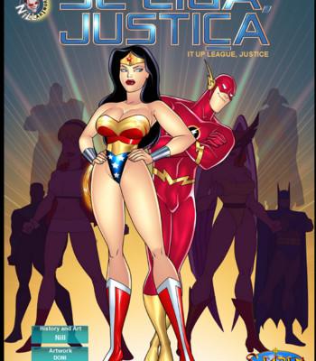 Porn Comics - Justice League Porn