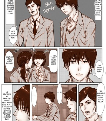 Tenkousei ni Netorareta Haha comic porn sex 004
