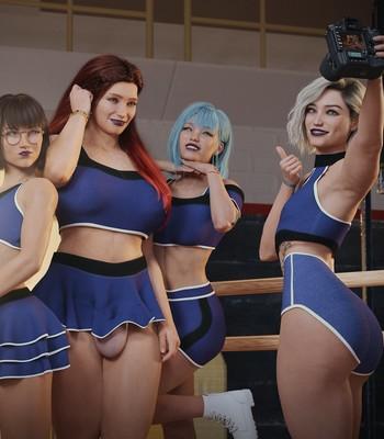 Cheerleading Initiation comic porn sex 011