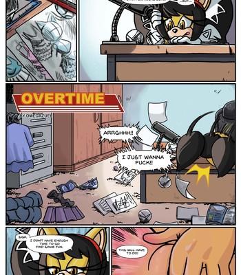 Porn Comics - Overtime