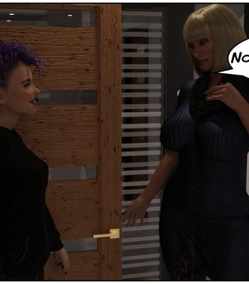 Futa Babysitter Lizzie comic porn sex 003