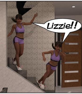 Futa Babysitter Lizzie comic porn sex 006