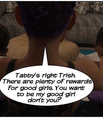 Futa Babysitter Lizzie comic porn sex 015