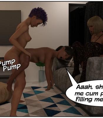 Futa Babysitter Lizzie comic porn sex 033