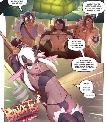 Porn Comics - Bandits!