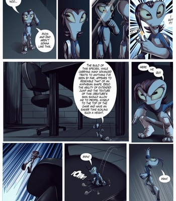 A Casual Day of Aliens comic porn sex 009