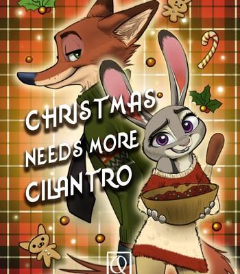 Porn Comics - Christmas needs more Cilantro