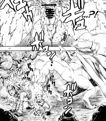 MonHun BON comic porn sex 023