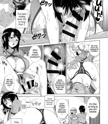 Hitozuma Life One time gal Ch.1-2  Colored & Black and White comic porn sex 087