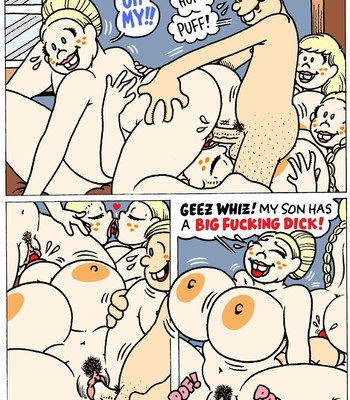 Turgid Comics (dexter cockburn) comic porn sex 068