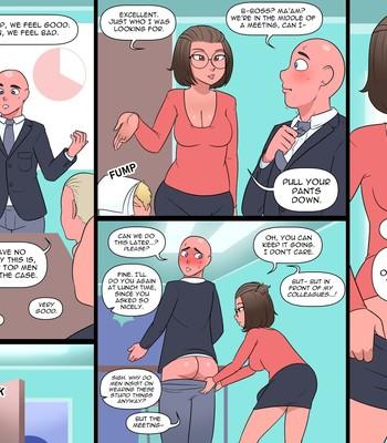 Porn Comics - Office Interruptus