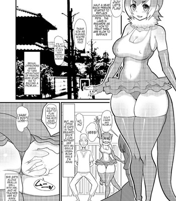 Otter-chan, let's play comic porn sex 002