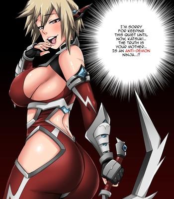 Porn Comics - Boku no Harem Academia Supplement: Bakugou Mama Rakugaki Bonus Material