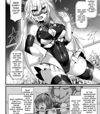 2D Comic Magazine Jakutaika Ryoujoku Narisagatta Zako Heroine ni Yaritai Houdai comic porn sex 004