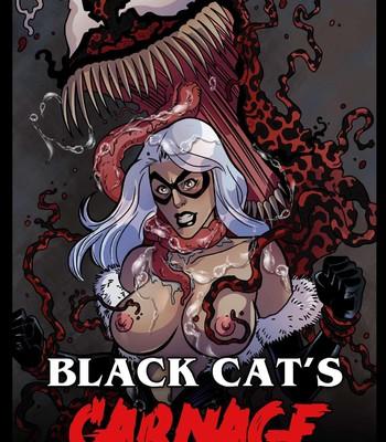 Porn Comics - Black Cat's Carnage